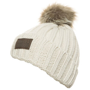 ColdGear Snowcrest Pom Beanie Damen, beige, zoom bei OUTFITTER Online