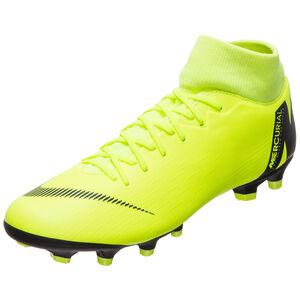 Mercurial Superfly VI Academy DF MG Fußballschuh Herren, gelb / schwarz, zoom bei OUTFITTER Online