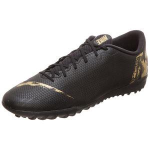 Mercurial Vapor XII Academy TF Fußballschuh Herren, schwarz / gold, zoom bei OUTFITTER Online