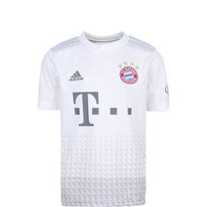 FC Bayern München Trikot Away 2019/2020 Kinder, weiß / hellgrau, zoom bei OUTFITTER Online