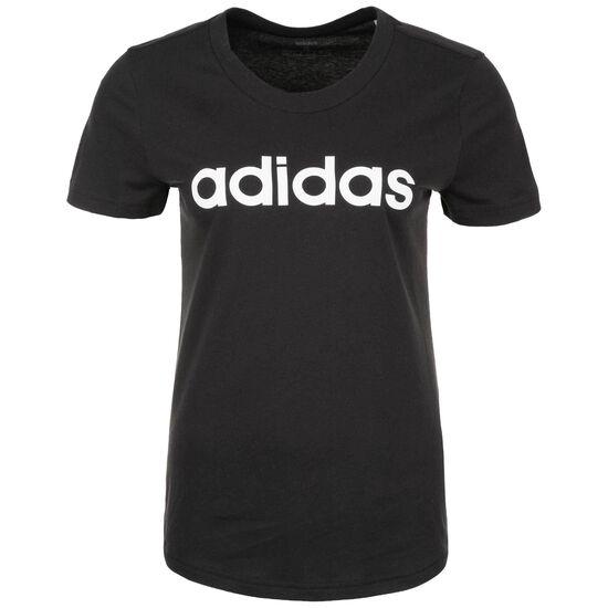 Essentials Linear Slim Trainingsshirt Damen, schwarz, zoom bei OUTFITTER Online