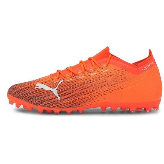 ULTRA 1.1 MG Fußballschuh Herren, orange / schwarz, zoom bei OUTFITTER Online