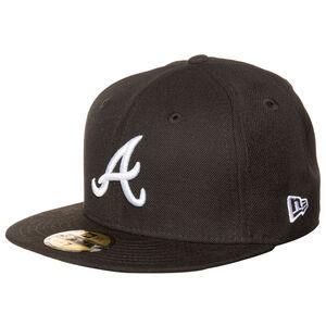 59FIFTY MLB Basic Atlanta Braves Cap, Schwarz, zoom bei OUTFITTER Online