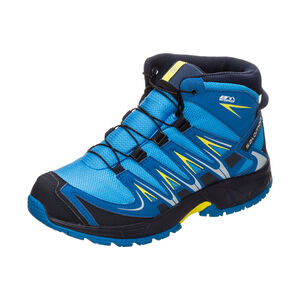 XA PRO 3D Mid CSWP Trail Laufschuh Kinder, Blau, zoom bei OUTFITTER Online