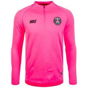 Paris St. Germain Dry Squad Longsleeve Herren, pink / schwarz, zoom bei OUTFITTER Online