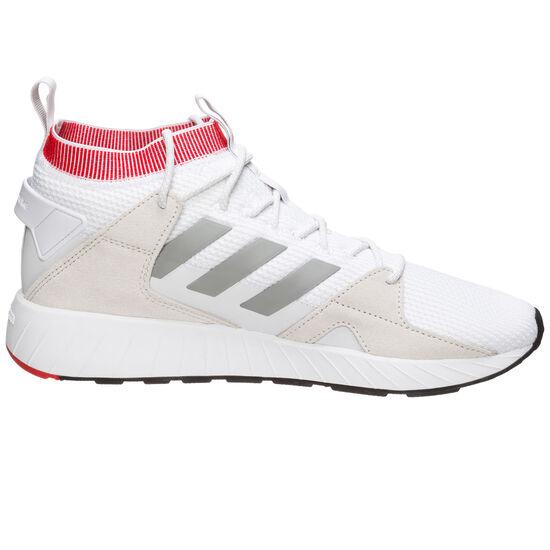 Questarstrike Mid Sneaker Herren, weiß / rot, zoom bei OUTFITTER Online