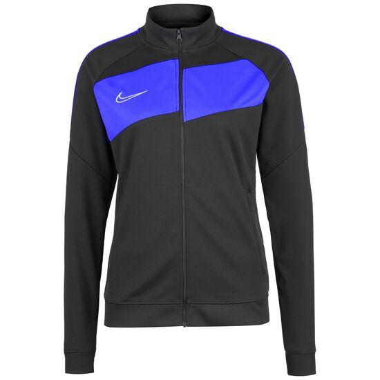 Academy 20 Knit Trainingsjacke Damen, anthrazit / blau, zoom bei OUTFITTER Online