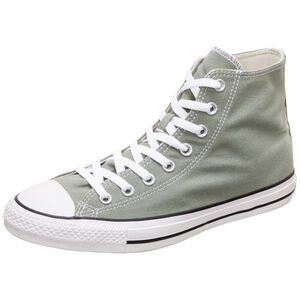 Chuck Taylor All Star High Top Sneaker, graugrün / weiß, zoom bei OUTFITTER Online