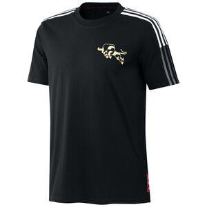 Manchester United Chinese New Year T-Shirt Herren, schwarz / weiß, zoom bei OUTFITTER Online