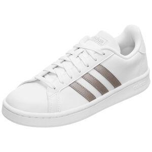 Grand Court Sneaker Damen, weiß / gold, zoom bei OUTFITTER Online