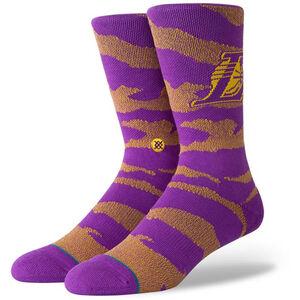 NBA LA Lakers Camo Socken Herren, , zoom bei OUTFITTER Online