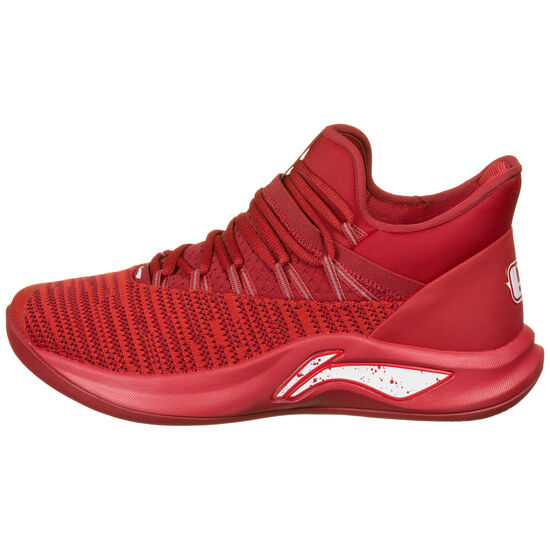 Speed V Basketballschuh Herren, rot, zoom bei OUTFITTER Online