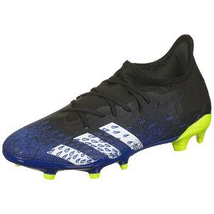 Predator Freak .3 L FG Fußballschuh Herren, schwarz / blau, zoom bei OUTFITTER Online