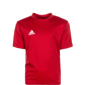 Core 18 Trainingsshirt Kinder, rot / weiß, zoom bei OUTFITTER Online