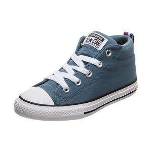 Chuck Taylor All Star Street Mid Sneaker Kinder, blau, zoom bei OUTFITTER Online