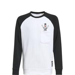 Juventus Turin Crew Sweatshirt Kinder, schwarz / weiß, zoom bei OUTFITTER Online