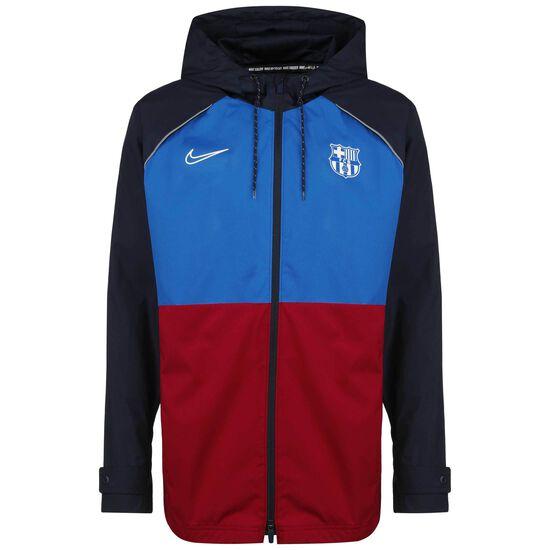 FC Barcelona AWF Kapuzenjacke Herren, blau / rot, zoom bei OUTFITTER Online