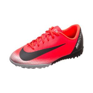Mercurial VaporX XII Academy CR7 TF Fußballschuh Kinder, neonrot / schwarz, zoom bei OUTFITTER Online