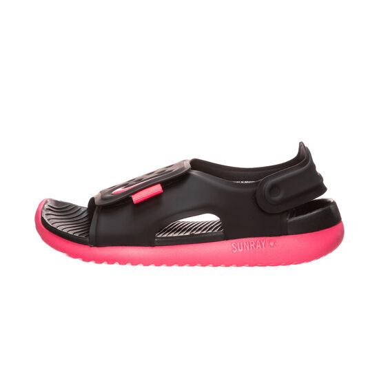 Sunray Adjust 5 Badesandalen Kinder, schwarz / pink, zoom bei OUTFITTER Online