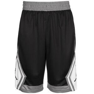 Jumpman Striped Basketballshort Herren, schwarz / grau, zoom bei OUTFITTER Online
