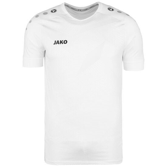 Premium Fußballtrikot Herren, weiß / schwarz, zoom bei OUTFITTER Online