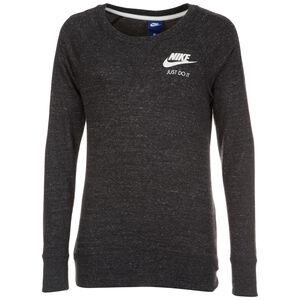 Gym Vintage Crew Sweatshirt Damen, schwarz / weiß, zoom bei OUTFITTER Online