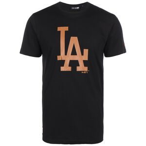 MLB Los Angeles Dodgers Seasonal Team Logo T-Shirt Herren, schwarz / hellbraun, zoom bei OUTFITTER Online