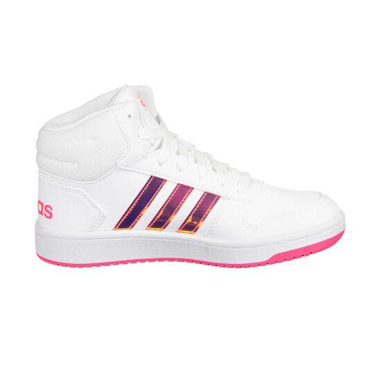 Hoops Mid 2.0 Sneaker Kinder, weiß / pink, zoom bei OUTFITTER Online