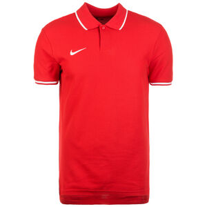 Polo TM Club19 SS Poloshirt Herren, rot / weiß, zoom bei OUTFITTER Online