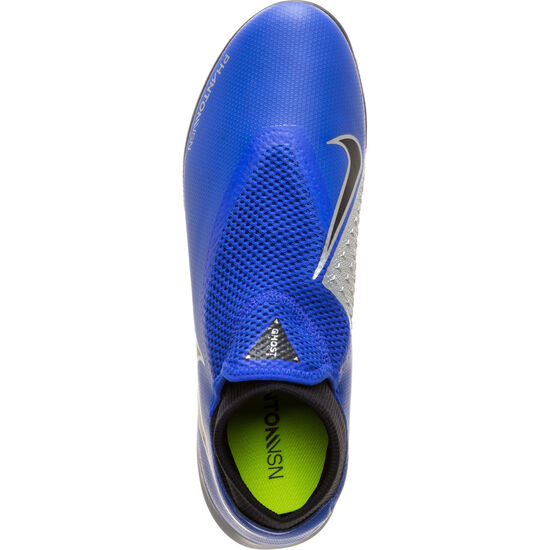 Phantom Vision Academy DF Indoor Fußballschuh Herren, blau / schwarz, zoom bei OUTFITTER Online