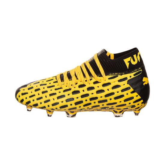 Future 5.1 NETFIT FG/AG Fußballschuh Kinder, gelb / schwarz, zoom bei OUTFITTER Online