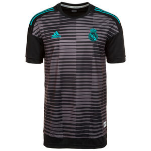 Real Madrid Home Pre-Match T-Shirt Herren, Schwarz, zoom bei OUTFITTER Online