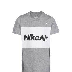 Air T-Shirt Kinder, dunkelgrau / weiß, zoom bei OUTFITTER Online