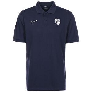 FC Barcelona Slim Poloshirt Herren, dunkelblau / weiß, zoom bei OUTFITTER Online