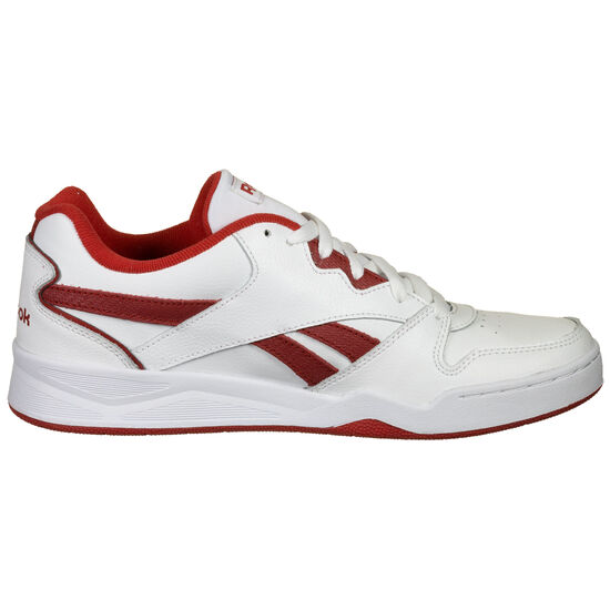 Royal BB4500 Low Sneaker Herren, weiß / rot, zoom bei OUTFITTER Online