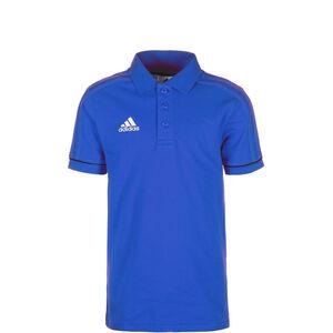 Tiro 17 Poloshirt Kinder, blau / weiß, zoom bei OUTFITTER Online