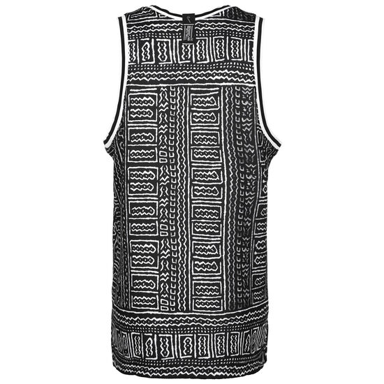Dri-FIT DNA Basketballtank Herren, schwarz / weiß, zoom bei OUTFITTER Online