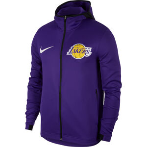 Los Angeles Lakers Showtime Herrenjacke, lila / weiß, zoom bei OUTFITTER Online
