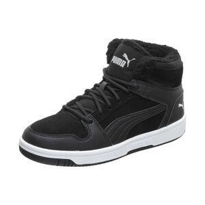 Rebound LayUp SD Fur Sneaker Kinder, schwarz / weiß, zoom bei OUTFITTER Online