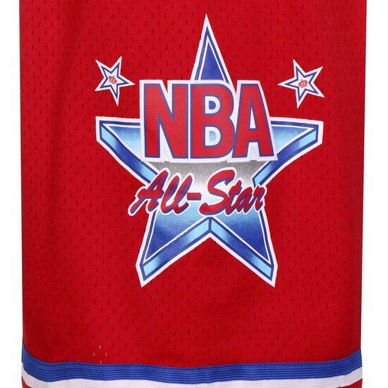 Classic Swingman All Star West 1991 Basketballshort Herren, rot, zoom bei OUTFITTER Online