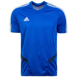 Tiro 19 Trainingsshirt Herren, blau / weiß, zoom bei OUTFITTER Online