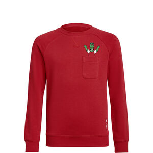 FC Arsenal Crew Sweatshirt Kinder, rot, zoom bei OUTFITTER Online