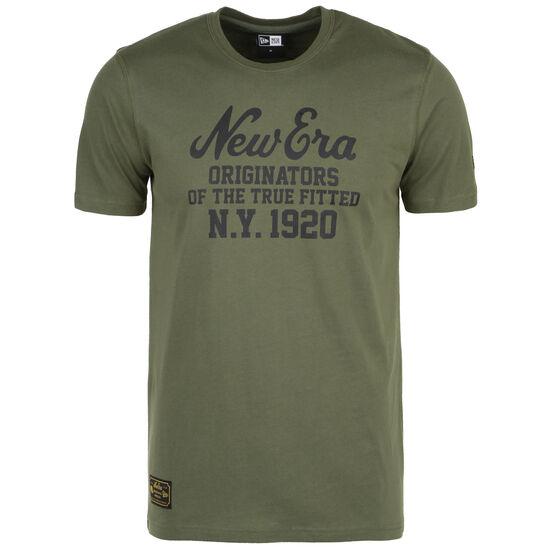Established Heritage T-Shirt Herren, oliv, zoom bei OUTFITTER Online
