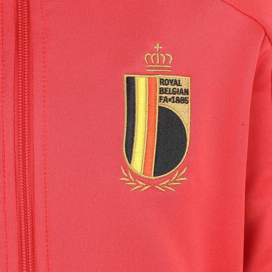 RBFA Belgien Trainingsanzug EM 2020 Kinder, rot / schwarz, zoom bei OUTFITTER Online