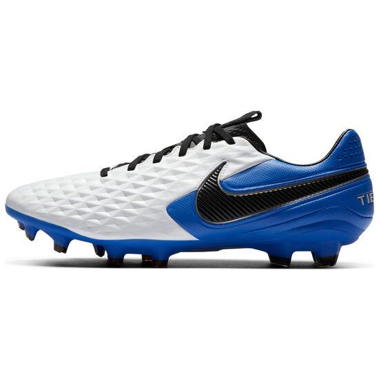 Tiempo Legend 8 Pro FG Fußballschuh Herren, weiß / blau, zoom bei OUTFITTER Online