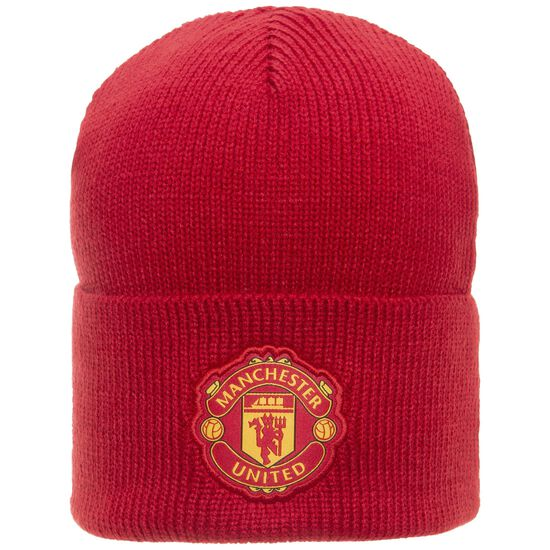 Manchester United Beanie, rot / weiß, zoom bei OUTFITTER Online