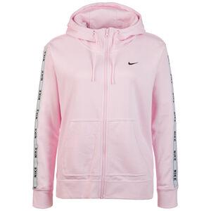 Logo Tape Kapuzenjacke Damen, pink / weiß, zoom bei OUTFITTER Online