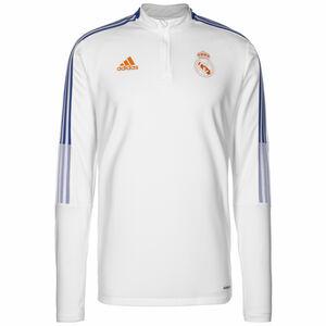 Real Madrid Trainingssweat Herren, weiß / blau, zoom bei OUTFITTER Online