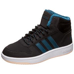 Hoops Mid 2.0 Sneaker Kinder, schwarz / blau, zoom bei OUTFITTER Online