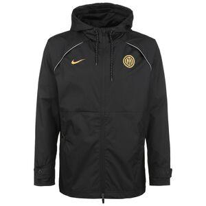 Inter Mailand AWF Graphic Kapuzenjacke Herren, schwarz / gold, zoom bei OUTFITTER Online